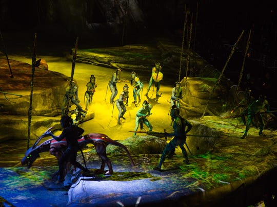 Despite challenges, Toruk's performers say their job
