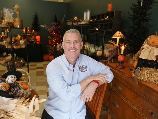 Chuck McClenning is owner of The Chasmacian Crafter in New London.