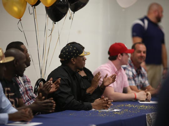 Wakulla senior Monterious Loggins signed on Wednesday to play for UCF in college. Loggins had 116 tackles and four sacks as a first-team All-Big Bend linebacker.