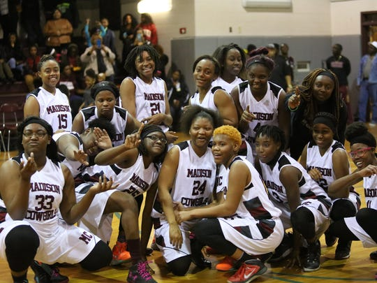 With a 46-35 win over Lafayette in the Region 2-1A final, the Madison County girls basketball team reached the state tournament for the first time ever.