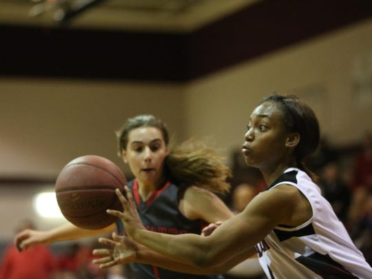 Madison County senior Tamiera Mobley scored a game-high 16 points in a 48-35 win over Lafayette in the Region 2-1A final on Tuesday night.