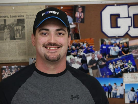 Godby wrestling coach Richard Burkette, in his second year, was a former Cougars wrestler that is now hoping to instill pride and winning back into the program.