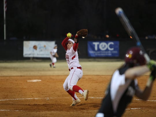 Leon senior pitcher Jensen Strickland is hoping her final season in red and white turns out like her sophomore year did, when the Lions won a district title and she was the All-Big Bend Player of the Year.