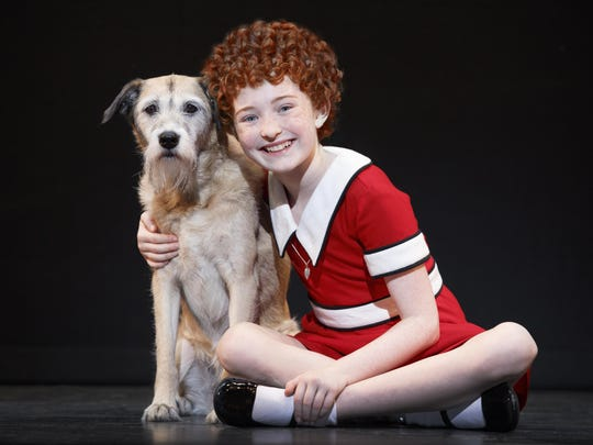 "See a fun production of ""Annie"" with her pup Sandy starting Friday."
