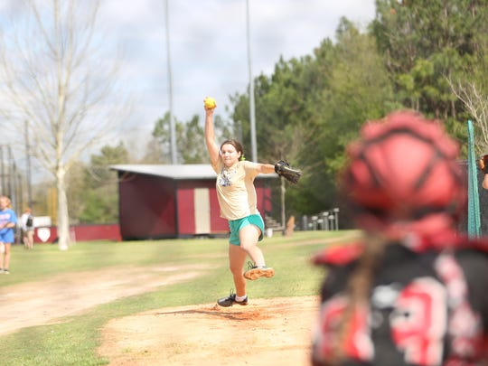 Florida High junior LeeAnn Hayes has begun to establish herself in the circle this season, going 6-3 on the year with a 3.22 ERA.