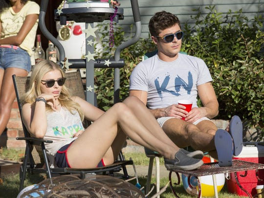 """Carla Gallo and Zac Efron in """"Neighbors 2: Sorority Rising."""""""
