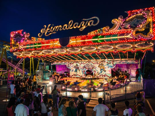 This annual high school fair attracts more than 125,000 people each year.