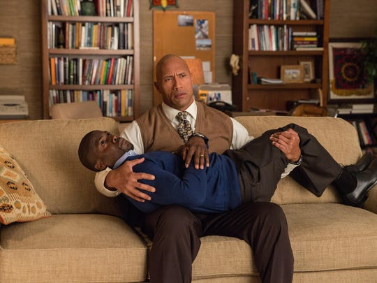 """Dwayne Johnson and Kevin Hart stars in """"Central Intelligence."""""""