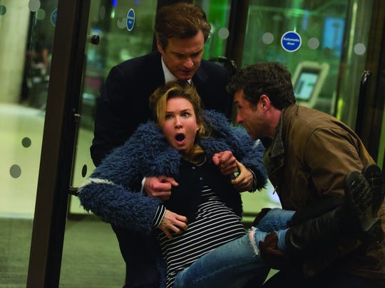"The big dilemma in ""Bridget Jones's Baby"" involves which man will be the father of our heroine's child. Renee Zellweger and Colin Firth return, with Patrick Dempsey new to the series."