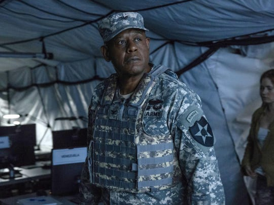 "Forest Whitaker stars in ""Arrival."""