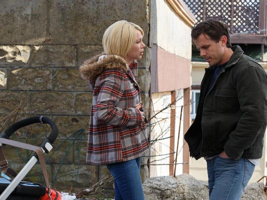 "Michelle Williams and Casey Affleck in ""Manchester By The Sea."""