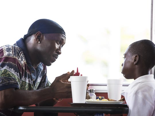 This image released by A24 Films shows Mahershala Ali,