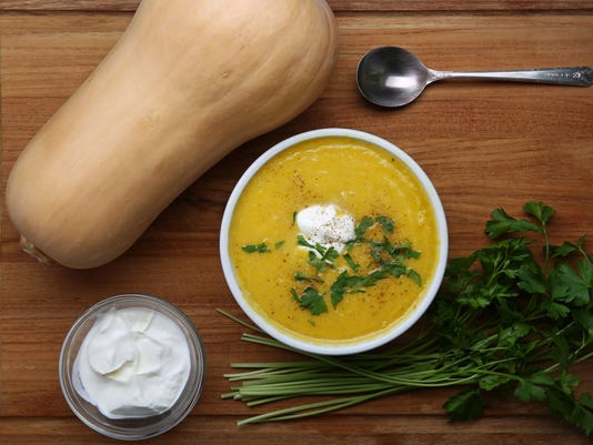 Super simple, really good roasted butternut-squash soup