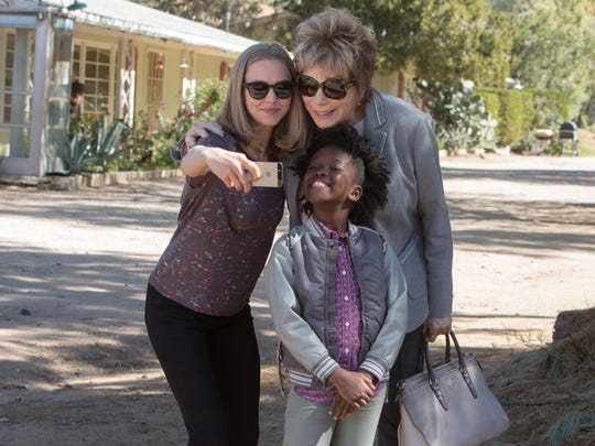 "Amanda Seyfried as Anne Sherman, Shirley MacLaine as Harriet Lauler and Ann Jewel Lee as Brenda in ""The Last Word."""