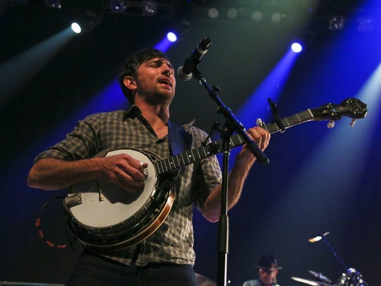 The Avett Brothers' Scott Avett performs at the Austin City Limits Live at the Moody Theater during the South by Southwest Music Festival in Austin, Texas, in March. The Avett Brothers will perform at CMAC on Sept. 2.