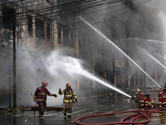 Peru Warehouse Fire