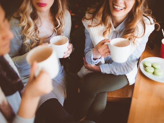 Coffee time with girlfriends