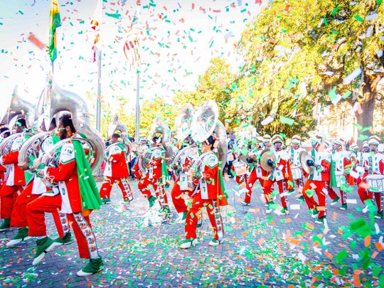 The FAMU Homecoming Parade rolls through town starting at 8 a.m. Saturday at Bethel AME Church on the corner of Orange Avenue and Wahnish Way.