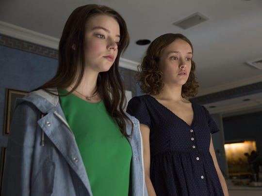 Anya Taylor-Joy, left, stars as Lily and Olivia Cooke