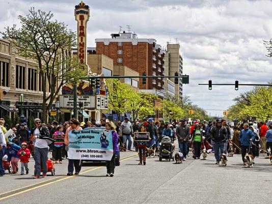 Celebrate Birmingham Hometown Parade