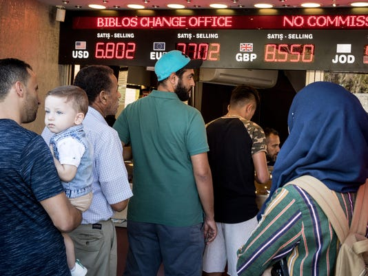Turkey Takes Action In Attempt To Stop Currency Collapse