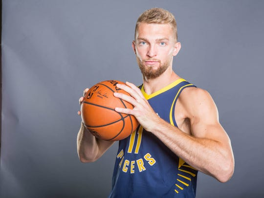 USP NBA: INDIANA PACERS-MEDIA DAY S BKN USA IN