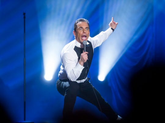 This May 7, 2016, photo shows Sebastian Maniscalco performing at the Beacon Theater in New York.