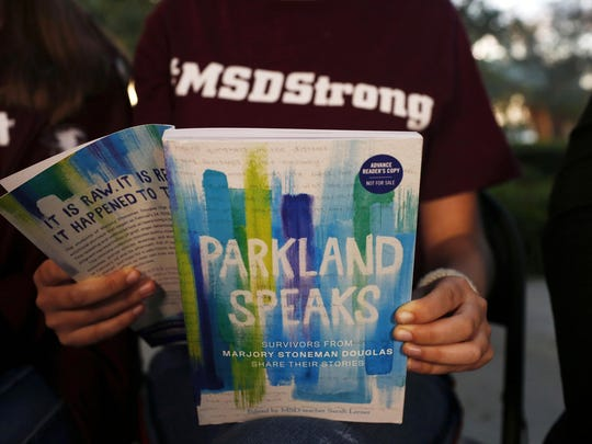 APTOPIX School Shooting Florida Book