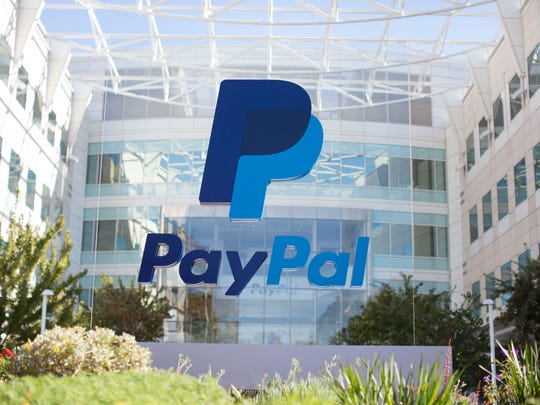The front of PayPal corporate headquarters