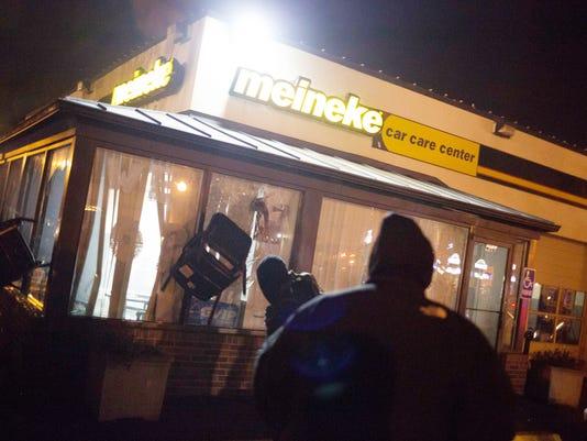 Riots After Grand Jury Decision Rip Apart Ferguson, Missouri