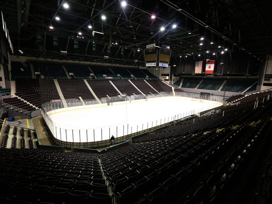 The Cincinnati Gardens with a seating capacity of 11,000,