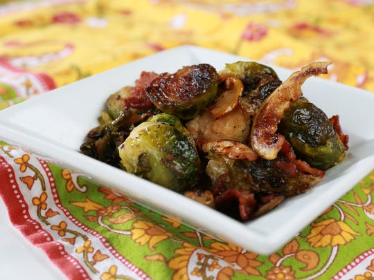 Brussels Sprouts with Lardons and Lemon