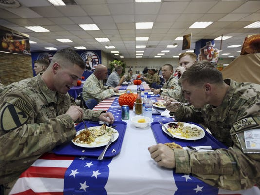 Afghanistan Thanksgiving Day