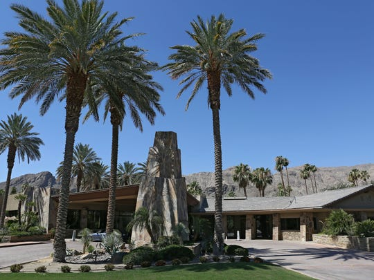 The clubhouse at Thunderbird Country Club in Rancho Mirage was one of the places President Obama was known to be at having worked out in the clubhouse's gym during his recent stay.