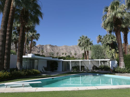 A classic estate at Thunderbird Country Club in Rancho Mirage, Thursday, June 19, 2014.