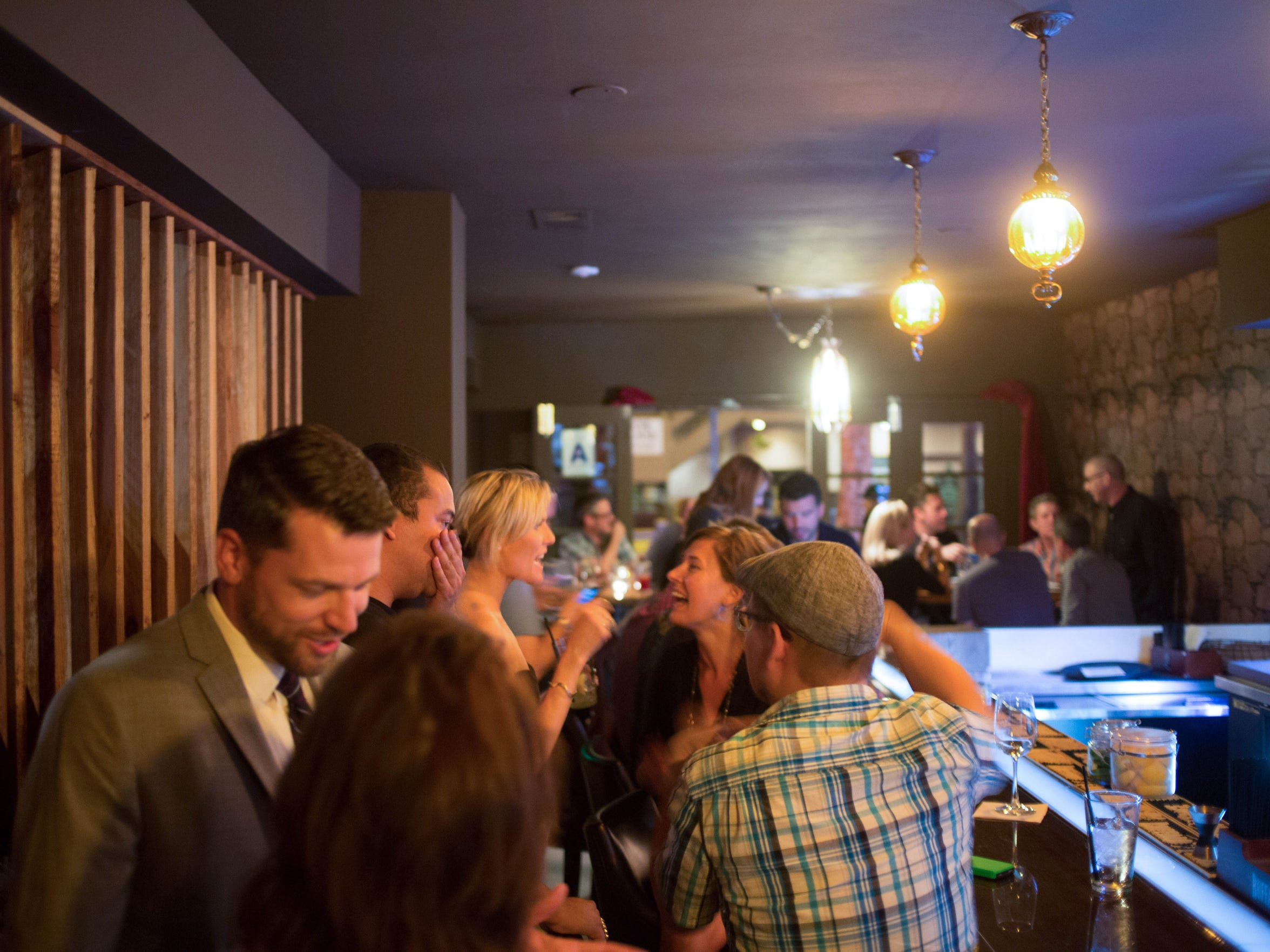 Art Bar at Bar in Palm Springs.
