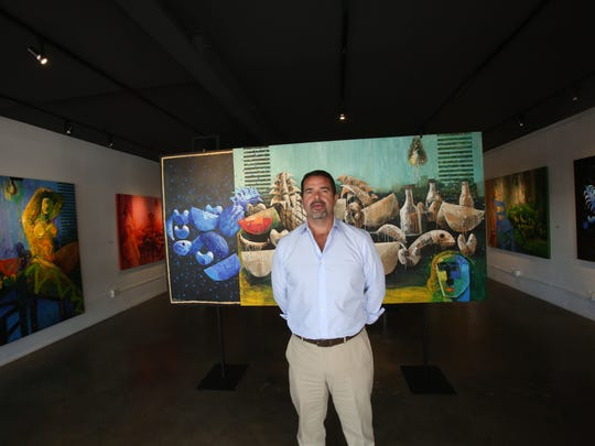 Jorge Mendez Art Gallery in Palm Springs will present the work of Mexican painter Vladimir Cora at the Palm Springs Fine Art Fair this week.