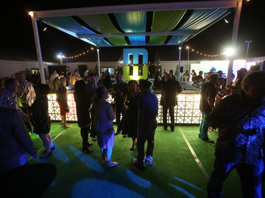 The Modernism Week kick-off party celebrates its tenth year in Palm Springs Thursday.