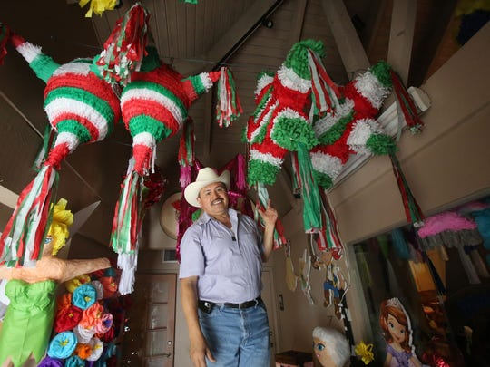 Coachella Valley Piñata Maker Sticks To Traditions