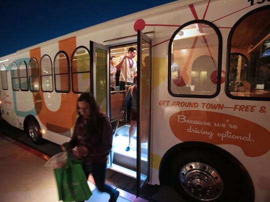 The city of La Quinta is considering adding a hop-on, hop-off shuttle service similar to the Buzz in Palm Springs, which would be operated by SunLine Transit Agency.