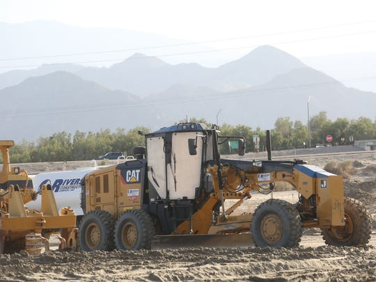 The Jefferson Street Interstate 10 exit will not be interrupted during the festivals to be held at the Indio Empire Polo grounds as construction crews are still in the preliminary process of construction.