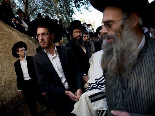 AP MIDEAST ISRAEL PALESTINIANS I ISR