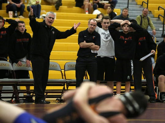 Local high school wrestling programs are dealing with lower participation and experience due to the sport's absence at the junior-high level.