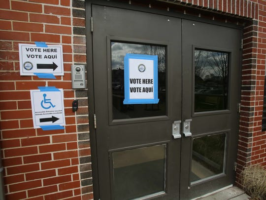 Carver Center is the voting poll station in Port Chester on March 18, 2015.