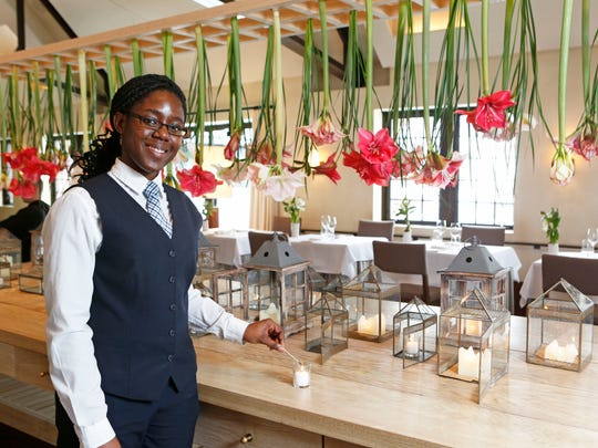 Chelsea Wallace, a FARMS apprentice, plans to someday use what she's learning at Blue Hill at Stone Barns as a model in Jamaica.