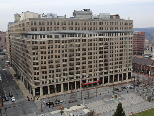 DuPont opened its headquarters in the DuPont Building in downtown Wilmington off Rodney Square in 1907. The original 11-story high-rise was the city's tallest office tower when it opened.