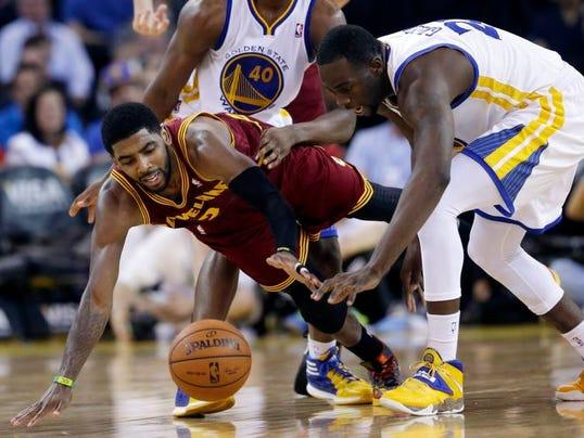 Cavaliers Warriors Basketball (2)