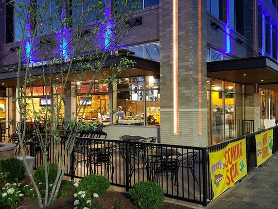 Fuzzy's Taco Shop offers dog-friendly patio seating