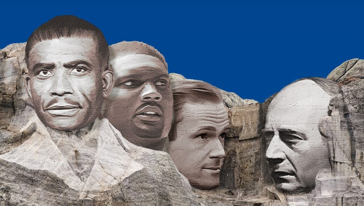 What four faces would be on a Nashville sports Mount Rushmore?