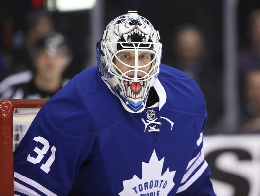 USP NHL: EDMONTON OILERS AT TORONTO MAPLE LEAFS S HKN CAN ON